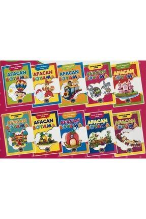 Karatay Yayınları Karatay Çocuk Gelişimine Uygun Afacan Boyama Kitabı Seti 10 Lu 0