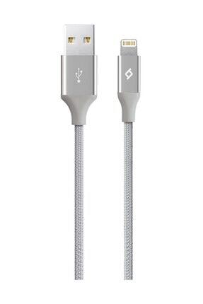 Ttec Gümüş Alumicable 2dk16g Iphone Uyumlu Şarj Kablosu 0