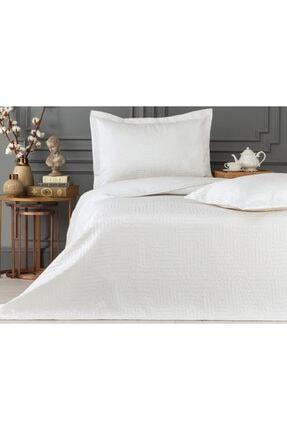 Madame Coco Lilou Çift Kişilik Yatak Örtüsü - Beyaz 0