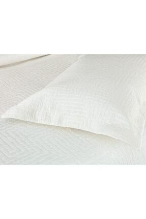Madame Coco Lilou Çift Kişilik Yatak Örtüsü - Beyaz 1