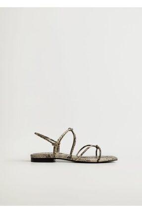 Mango Düğümlü Bantlı Sandalet 2