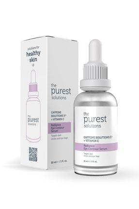 The Purest Solutions Göz Altı Torbalanma Ve Morluk Karşıtı Bakım Serumu 30 Ml (caffeine Solutions 5% + Vitamin C) 0