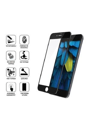 3Techno Glass Apple Iphone Se 2020 5d Tam Kaplayan Kırılmaz Ekran Koruyucu Full Cam 0